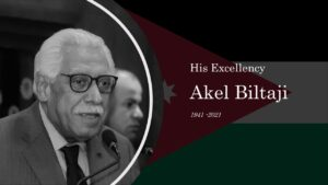 Former Minster of Tourism and Mayor of Amman Akel Biltaji has sadly passed away.