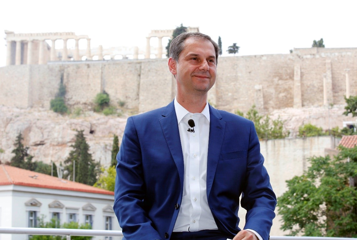 An Interview with Minister Haris Theoharis, Minister of Tourism, Greece